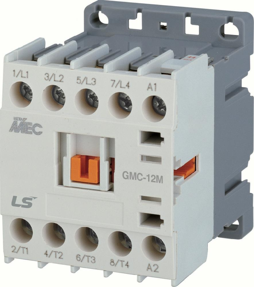 Контактор GMC-6M,2.2kW - 6A,3Р,AC24V 50/60Hz 1a / Продукция LSIS